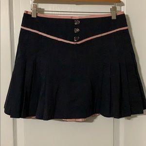 Marc Jacobs Dark Blue and Pink Mini Skirt SZ 6